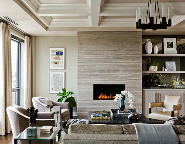25+ Most Stunning Living Room Fireplace Ideas For Glamorous Decor