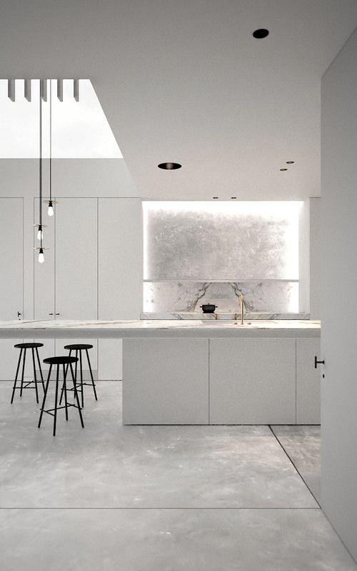 minimalist kitchen island 10