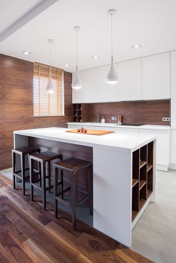 minimalist kitchen island 15