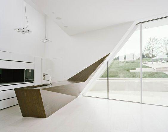 minimalist kitchen island 16