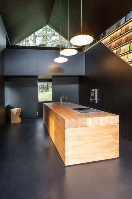 minimalist kitchen island 17
