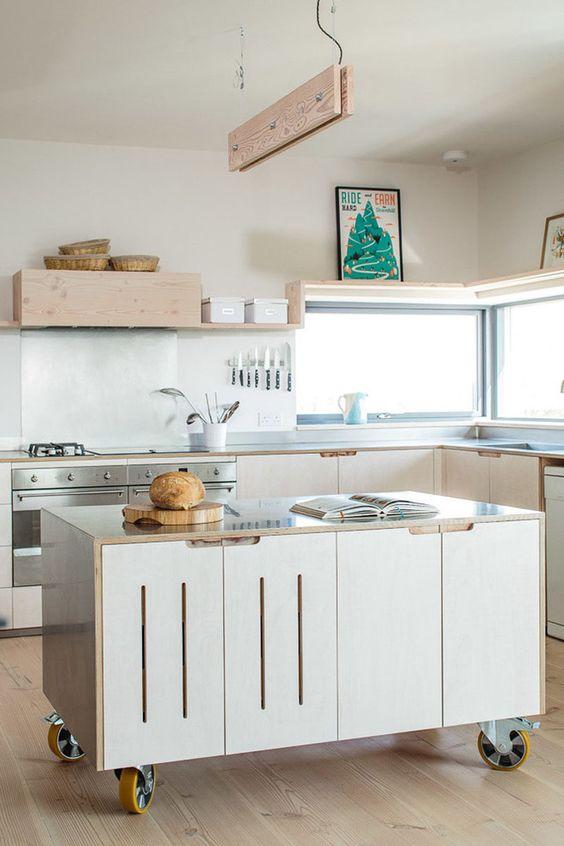 minimalist kitchen island 2