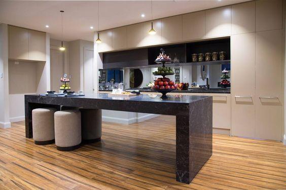 minimalist kitchen island 20