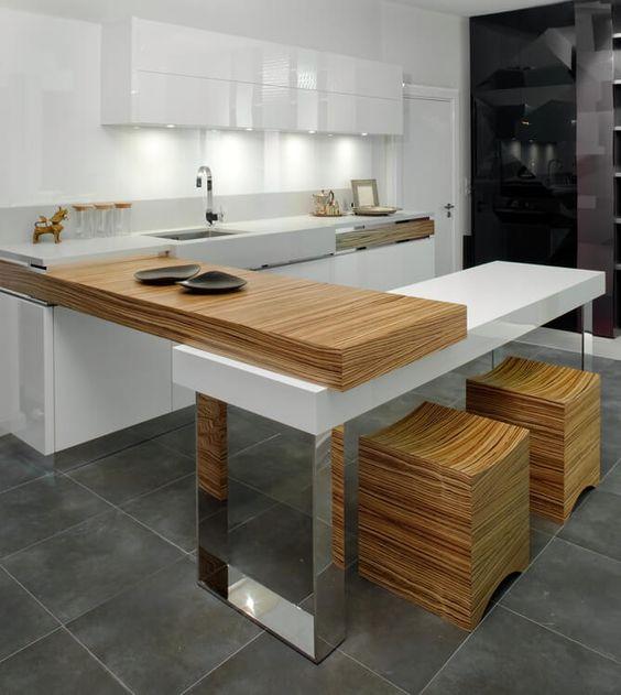 minimalist kitchen island 22