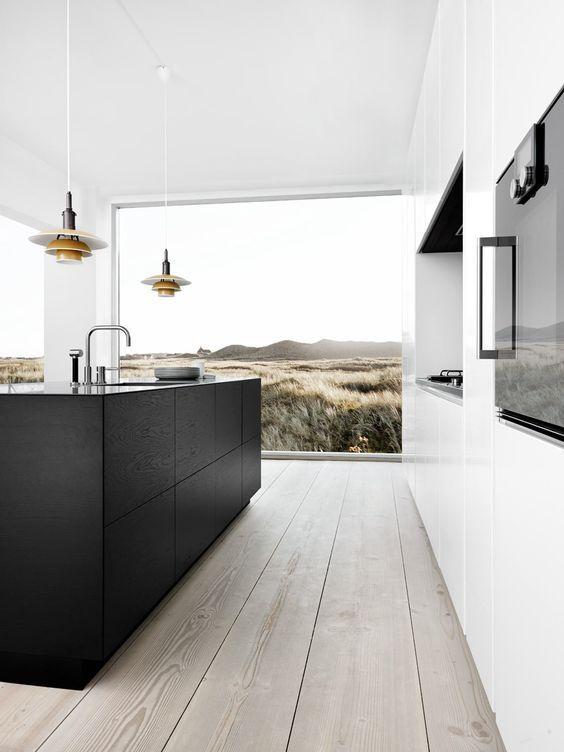 minimalist kitchen island 3