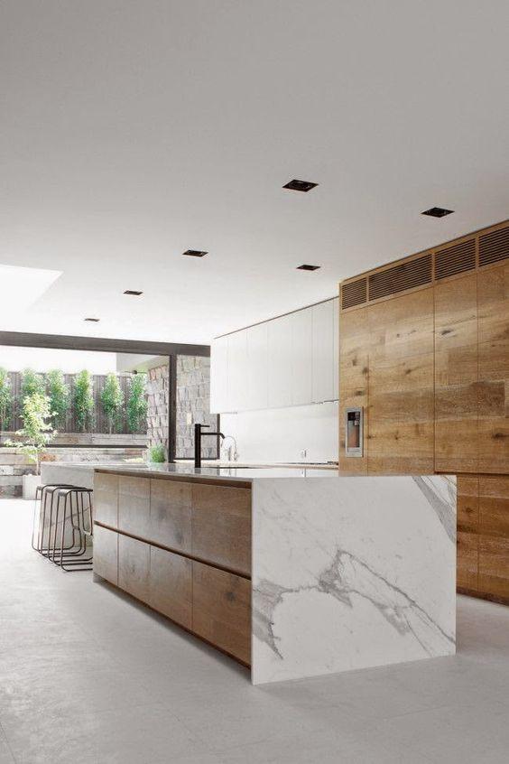minimalist kitchen island 4