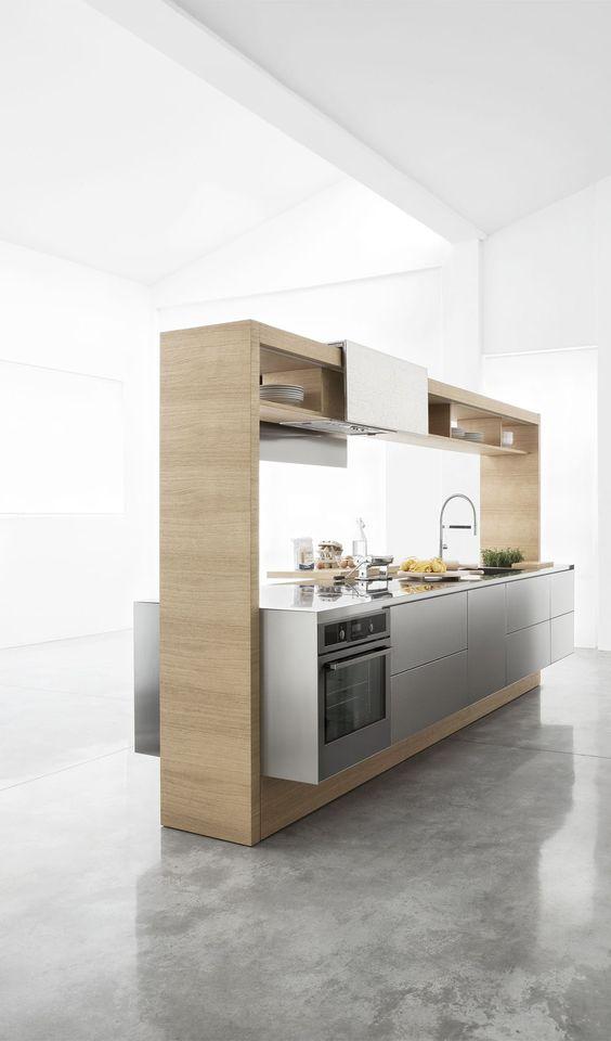 minimalist kitchen island 5