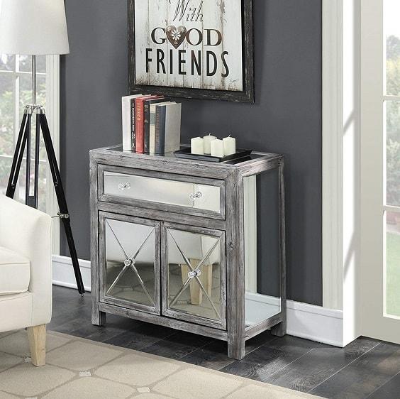 mirrored bedroom furniture 10-min