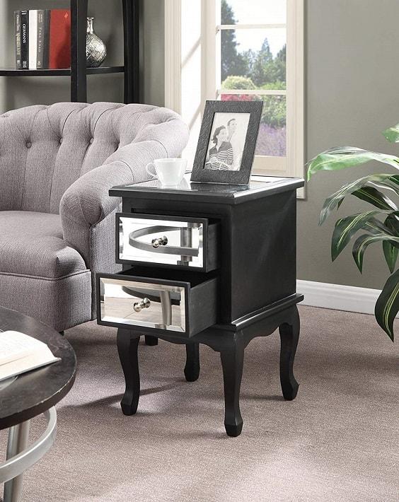 mirrored bedroom furniture 11-min