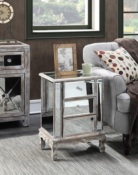 mirrored bedroom furniture 2-min