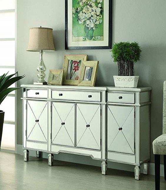 mirrored bedroom furniture 6-min