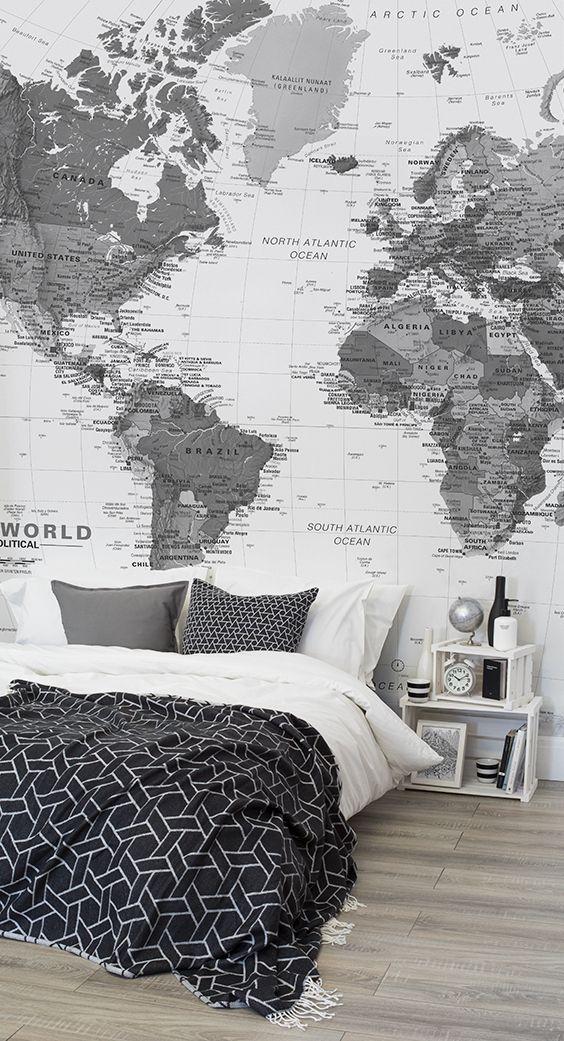 monochromatic bedroom 10