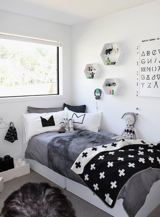 monochromatic bedroom 11