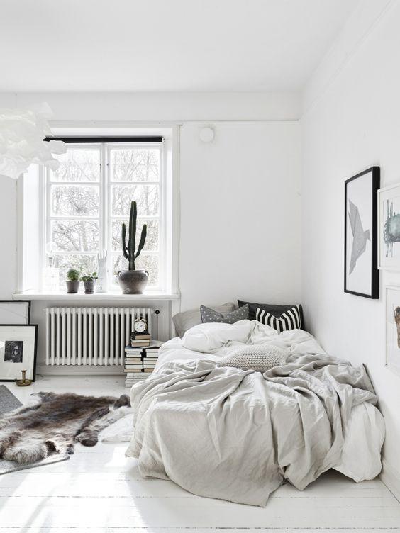 monochromatic bedroom 14
