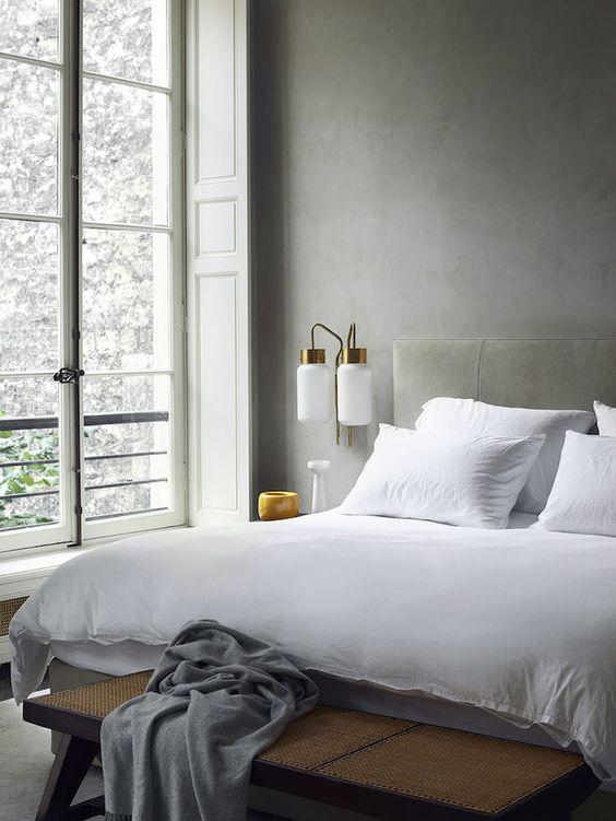 monochromatic bedroom 24