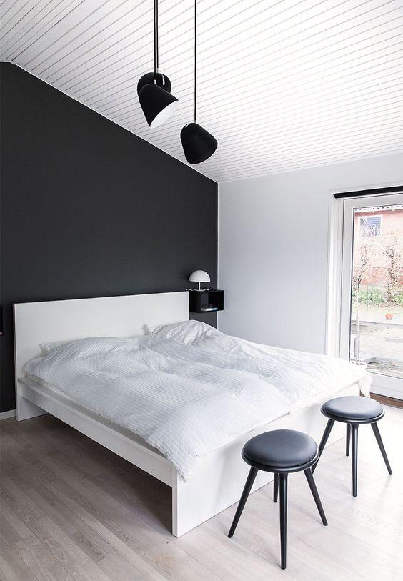 monochromatic bedroom 25