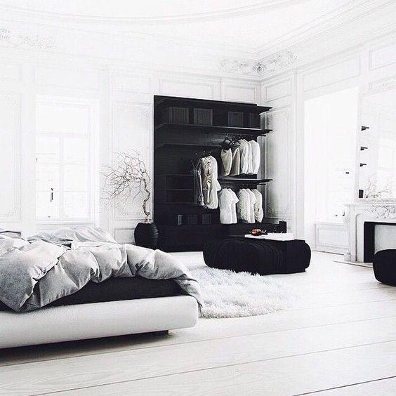 monochromatic bedroom 3
