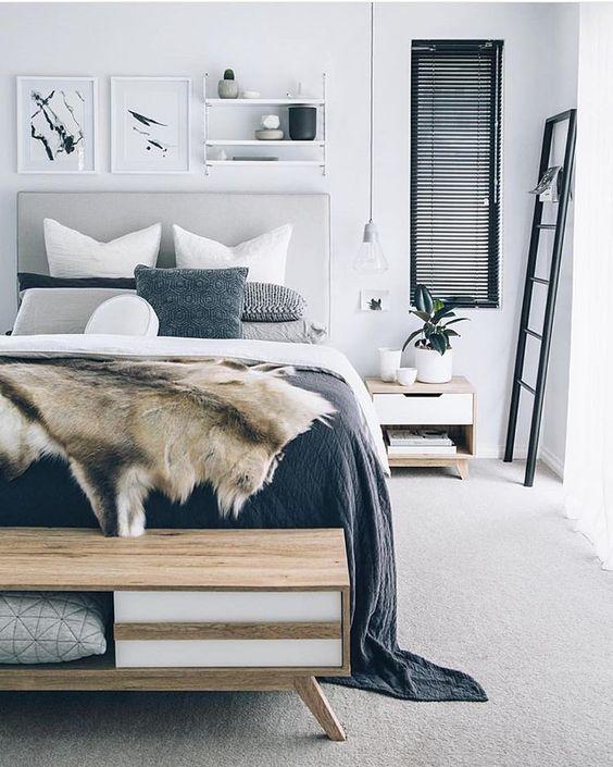 monochromatic bedroom 4