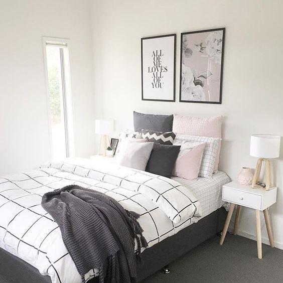 monochromatic bedroom 5