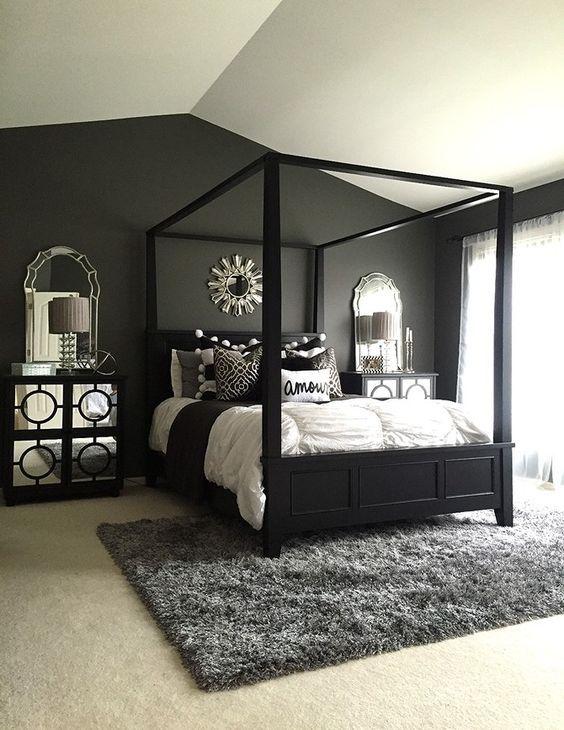 monochromatic bedroom 6