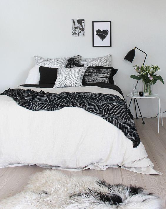 monochromatic bedroom 7