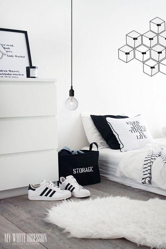 monochromatic bedroom 9