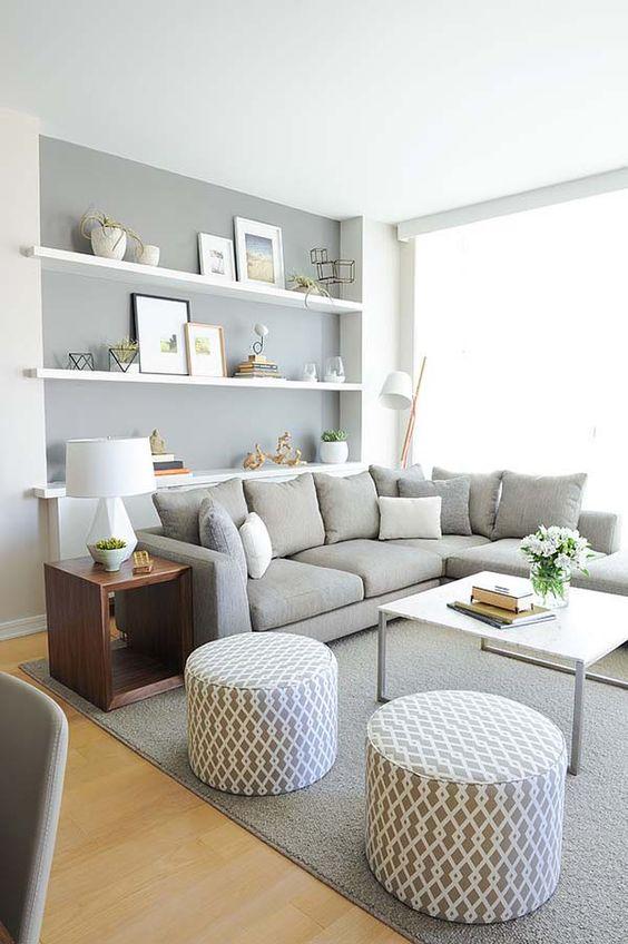 monochromatic living room 1