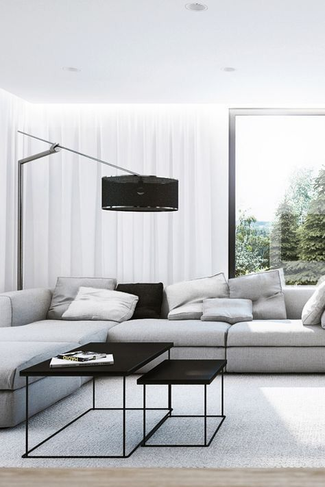 monochromatic living room 11