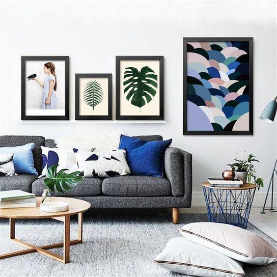 monochromatic living room 12