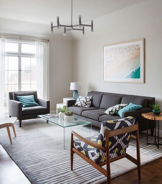 monochromatic living room 13