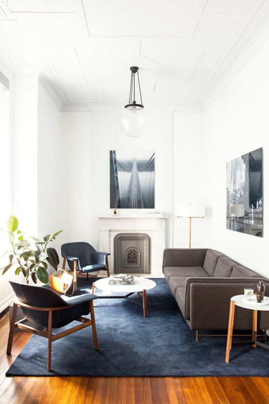 monochromatic living room 14
