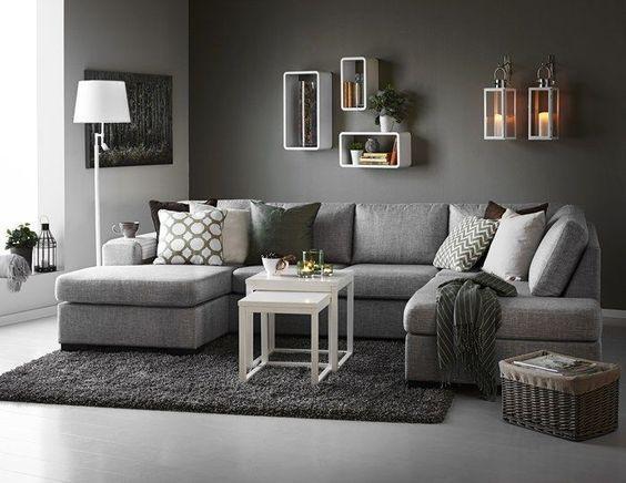 monochromatic living room 2