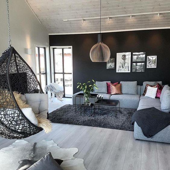monochromatic living room 21