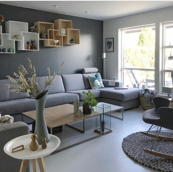 monochromatic living room 25