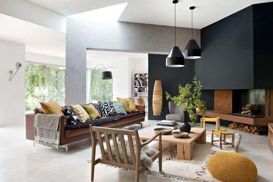 monochromatic living room 26