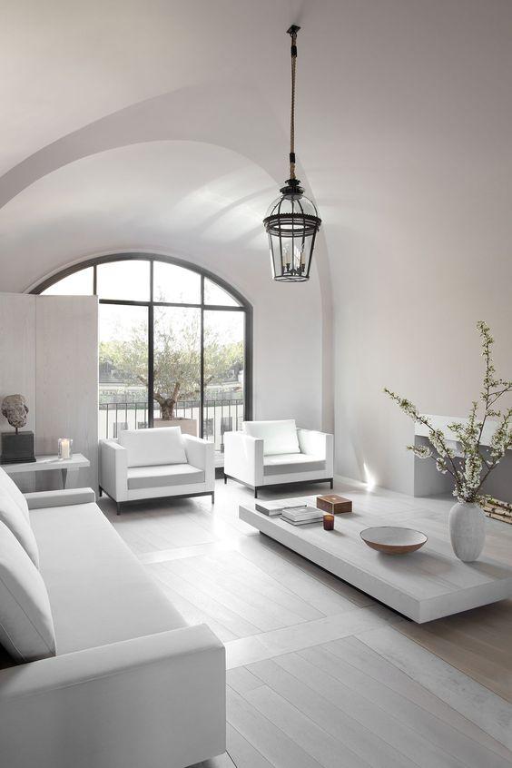 monochromatic living room 8