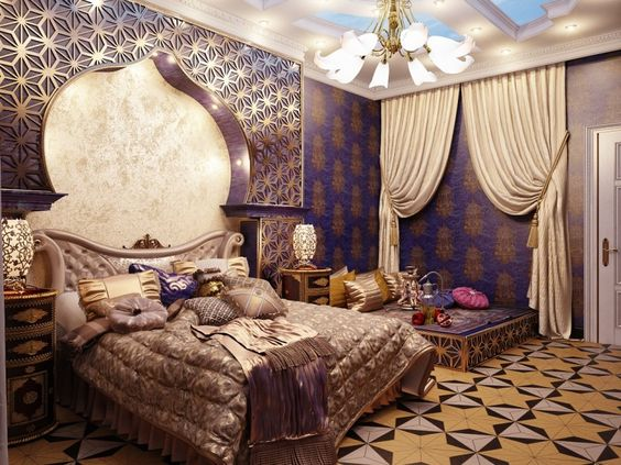 moroccan bedroom 14