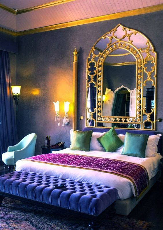 moroccan bedroom 15