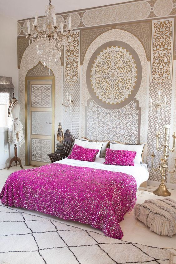 moroccan bedroom 16