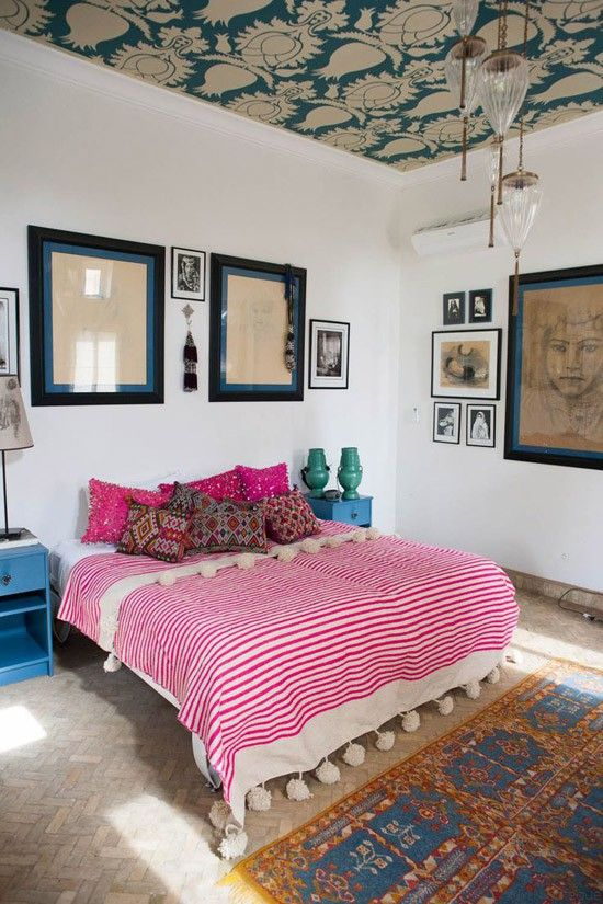 moroccan bedroom 17