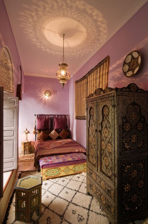 moroccan bedroom 18