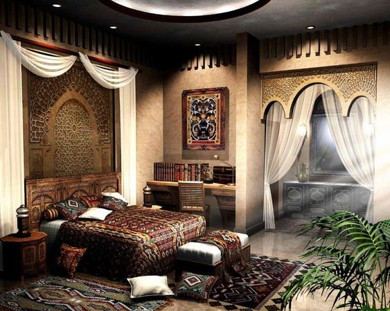 moroccan bedroom 9