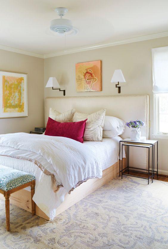 neutral girls bedroom 14