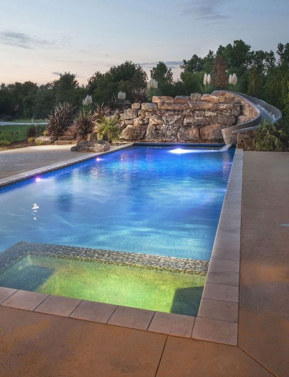 rectangle swimming pools 14