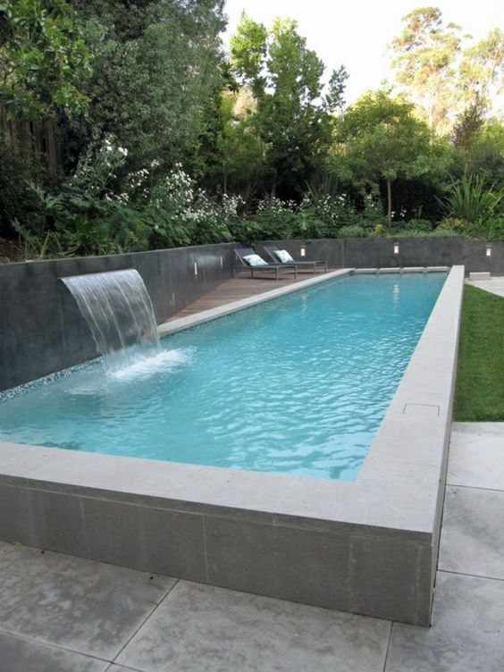 rectangle swimming pools 15