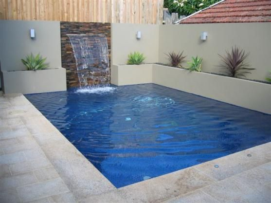 25+ Best Rectangle Swimming Pools with Waterfall Design Ideas To Steal