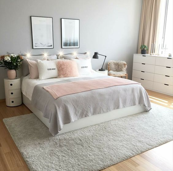 rose gold bedroom ideas 10