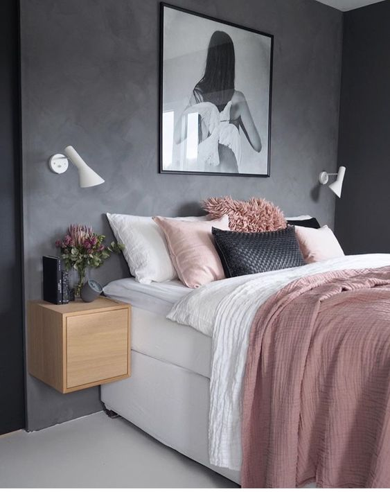 rose gold bedroom ideas 12