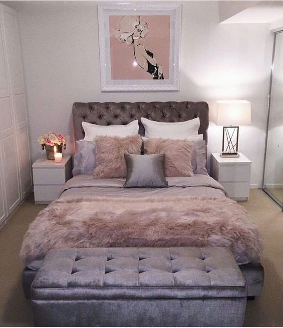 rose gold bedroom ideas 16