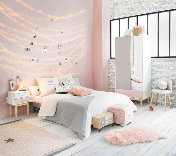 rose gold bedroom ideas 19